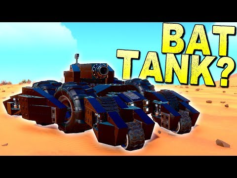 What If the Batmobile Was Actually a Tank? [BEST CREATIONS] - Trailmakers Gameplay