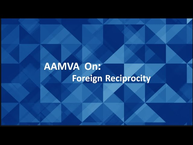 MOVE Spring 2020 - Foreign Reciprocity