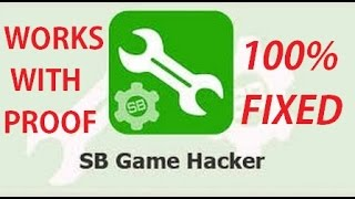 How To Fix SB Game Hacker Opening Problem (must works In all Devices)