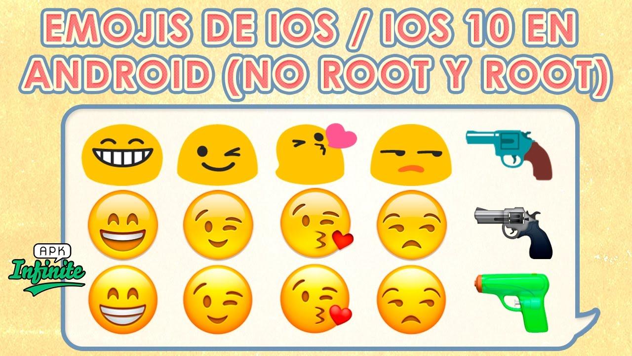 Ios 10 emojis apk | iOS 11 Emoji WITHOUT root (substratum