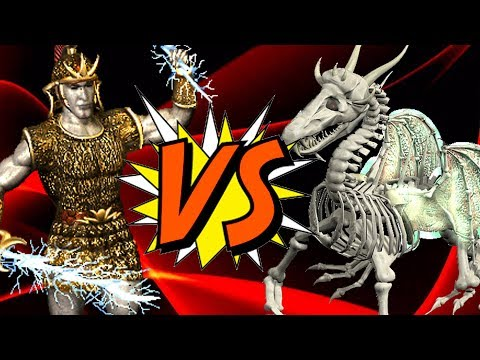 Heroes Of Might And Magic 3  Titan VS Ghost Dragon