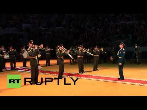 Russia: Interior Ministry dances 'Gangnam Style' for graduates