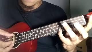 Fingerstyle ukulele melodi intro Surat Cinta untuk Starla - Virgoun