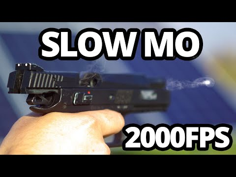 Airsoft At 2000FPS SLOW MOTION