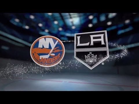 New York Islanders vs Los Angeles Kings - October 15, 2017 | Game Highlights | NHL 2017/18. Обзор.