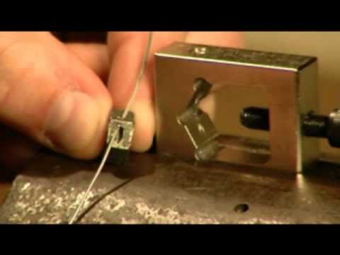 BikeMaster Safety Wire Drill Guide - YouTube