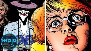 Top 10 Most Disturbing DC Moments In Comics