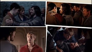 Mama Mia Trailer Merlin Style (Merlin/Arthur/Lancelot/Gwaine - love triangle)