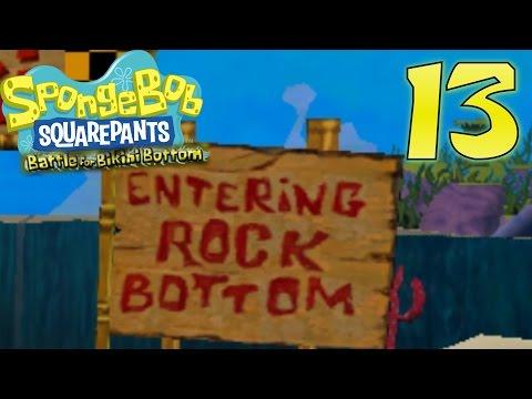 Entering Rock Bottom | Spongebob Squarepants: BfBB | Ep. 13
