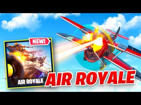 *NEW* AIR ROYALE Mode in Fortnite