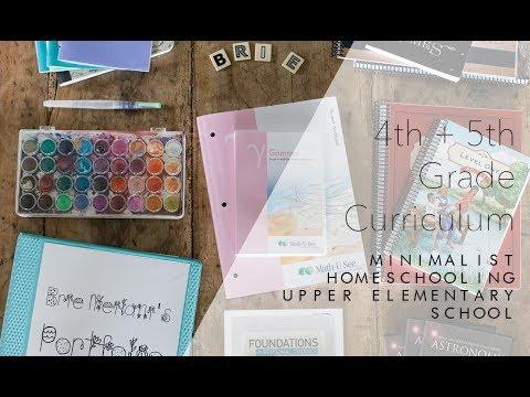 4th5th Grade Curriculum  Minimalist Homeschool