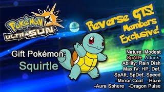 Pokémon Ultra Sun Reverse GTS Live Stream! Member Exclusive!