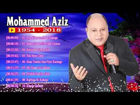 मोहम्मद अजीज के बेस्ट फिल्मी गाने(Best Bollywood Song of Mo.Aziz)Superhit Hindi Songs Of Mohd Aziz