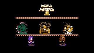 NES Longplay - World Heroes 2