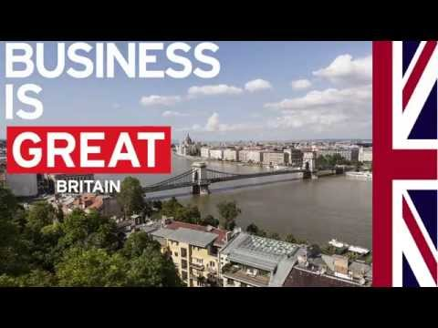 The GREAT Mega Mission in Budapest - Opening Ceremony of the British Business Centre