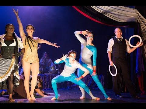 "MoonDrop Circus presents ""Behind the Curtain"""
