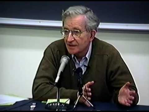 "Noam Chomsky  ""Free Markets?"""
