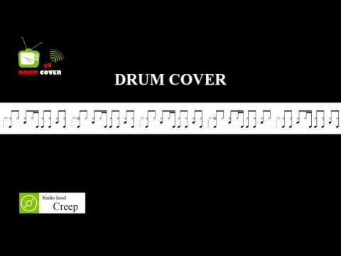 Creep (Drum cover) | Radio head | Drum Sheet | DRUM COVER TV