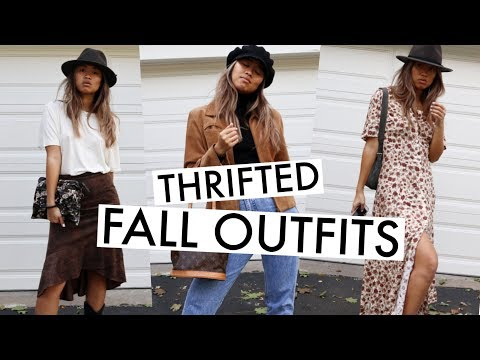 Cute Fall Thrifted Outfits | Affordable Trends