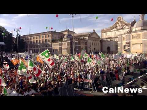 Roma :: 29/10/2016 :: Referendum: discorso di Beppe Sala in Piazza del Popolo.