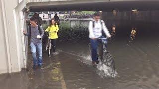 Opnieuw wateroverlast in zuidoost Brabant