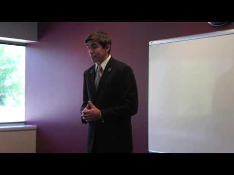 Washington FBLA Public Speaking II (First Place) - David Larkin