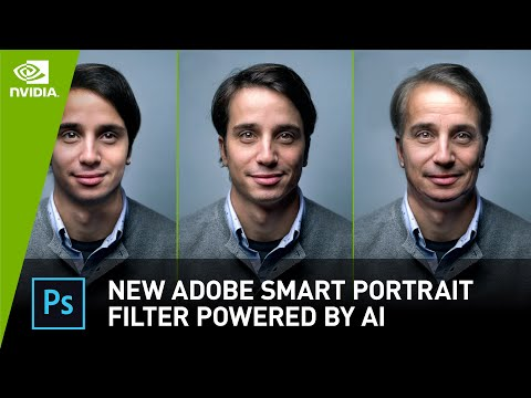 New Adobe Smart Portrait Filter Powered By AI