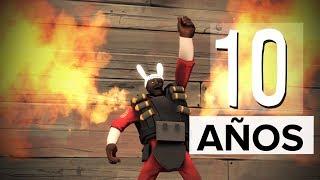 COMO FESTEJAR LOS 10 AÑOS DE - Team Fortress 2