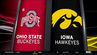 Ohio State at Iowa Highlights | Big Ten Football
