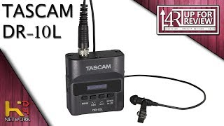 TASCAM DR-10L (Unboxing & Overview)