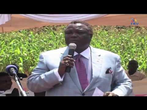 Atwoli cautions Western Kenya politicians against using the youth to cause chaos