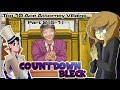 Top Ten Ace Attorney Villains Part 2 5 1 with Countdown Bleck