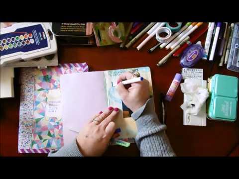 Art Journal Supplies for Beginners on a Budget