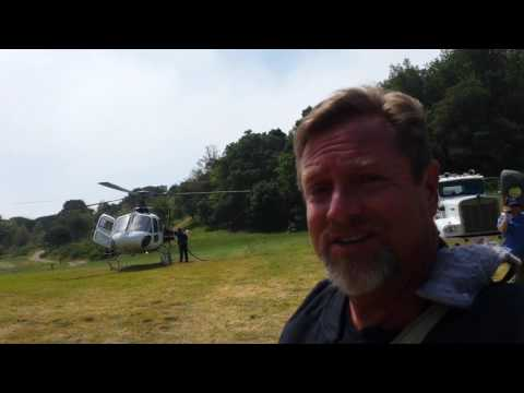 Helicopter or Hike to Post Ranch in Big Sur