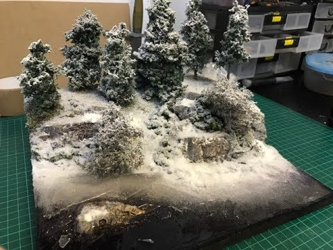 How To Make A Realistic Frozen River / Broken Ice effects Diorama Build Part 6
