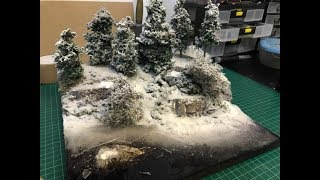 Cheap And Easy Realistic Frozen River / Broken Ice effects Diorama Build Part 6