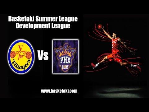 Basketaki Summer League - Athens City Villagers Vs Phoenix Bums (16/06/2016)