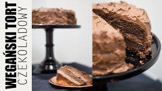 PRZEPIS NA WEGAŃSKI TORT CZEKOLADOWY || ANNA SUDOŁ