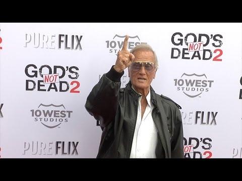 "Pat Boone ""God's Not Dead 2"" Premiere Red Carpet"