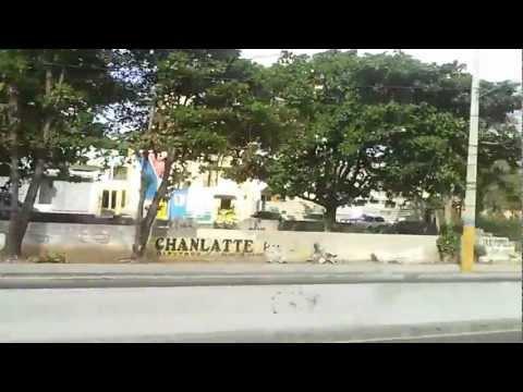 The drive along Av. Espana, Santo Domingo, Dom. Republic - 2013
