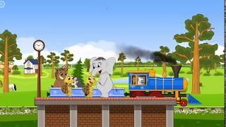 Мультфильм про паровозик. Видео для самых маленьких
