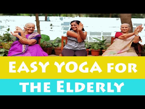 Easy Yoga for Elderly Senior Citizens | Seated Exercises for Older Adults | Yogalates with Rashmi