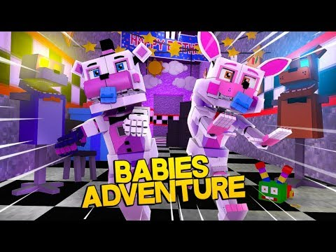 Minecraft Fnaf:  Baby Funtime Foxy And Baby Funtime Freddy Adventure (Minecraft Roleplay)