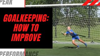 Goalkeeper Training: Evaluation Areas to Improve
