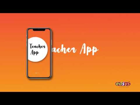 Teacher App - Class Schedule & Attendance Management App | Edsys