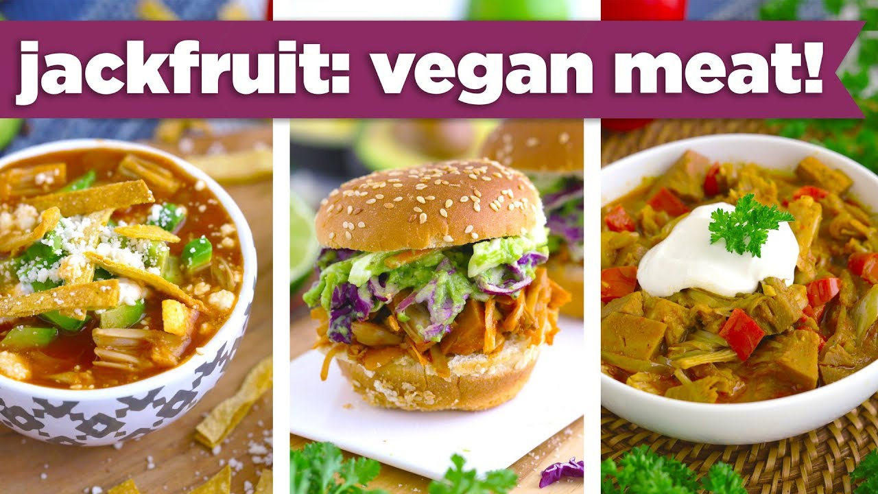 Healthy Jackfruit Recipes Vegan Pulled Pork Curry Tortilla Soup