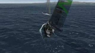 Virtual Skipper 5 . Quantum vs Shuraz.wmv