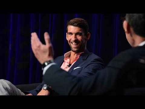 Michael Phelps at ACSM Annual Meeting