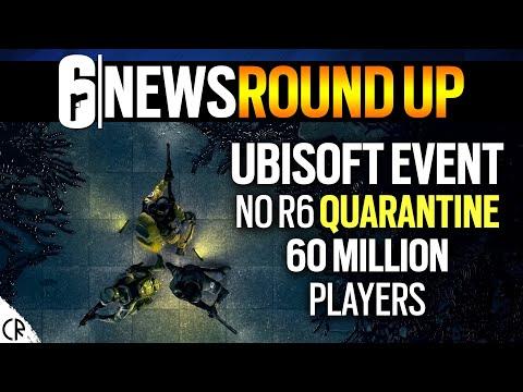 Ubisoft Forward Event, 60 Million, No Quarantine – 6News – Tom Clancy's Rainbow Six Siege