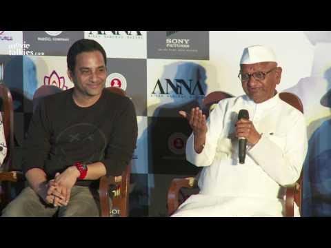 Anaa Movie 2016 Trailer Launch - Anna Hazare